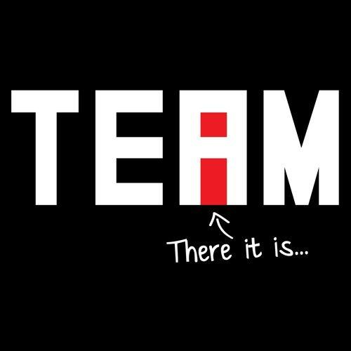 "I Found The ""I"" In Team"