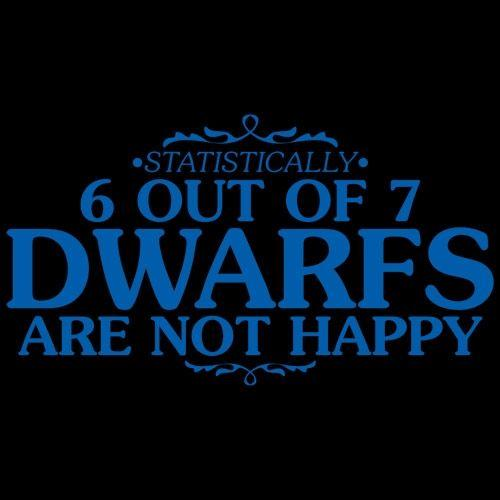 6 Out Of 7 Dwarfs Are Not Happy