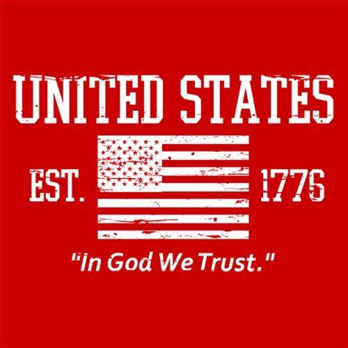 United States In God We Trust - Roadkill T Shirts