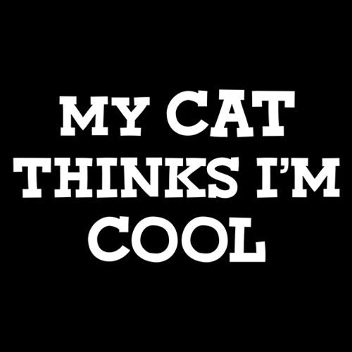 My Cat Thinks I'm Cool
