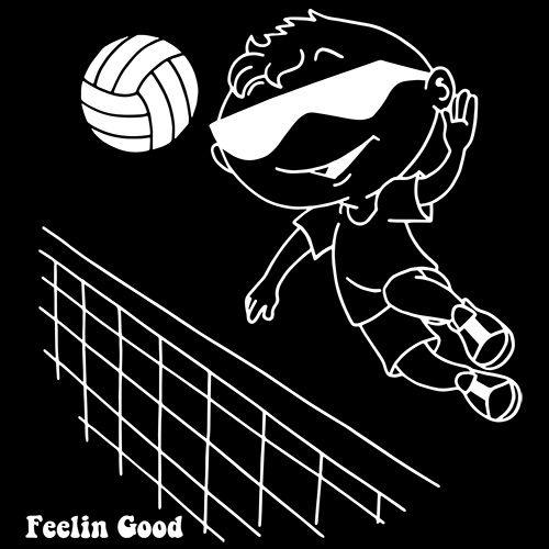 Feelin Good Volleyball Player