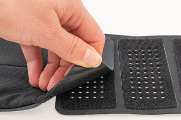 How to attach the high performance velcro