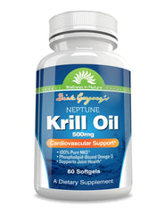 Dick Gregory's Neptune Krill Oil 500 mg Softgels