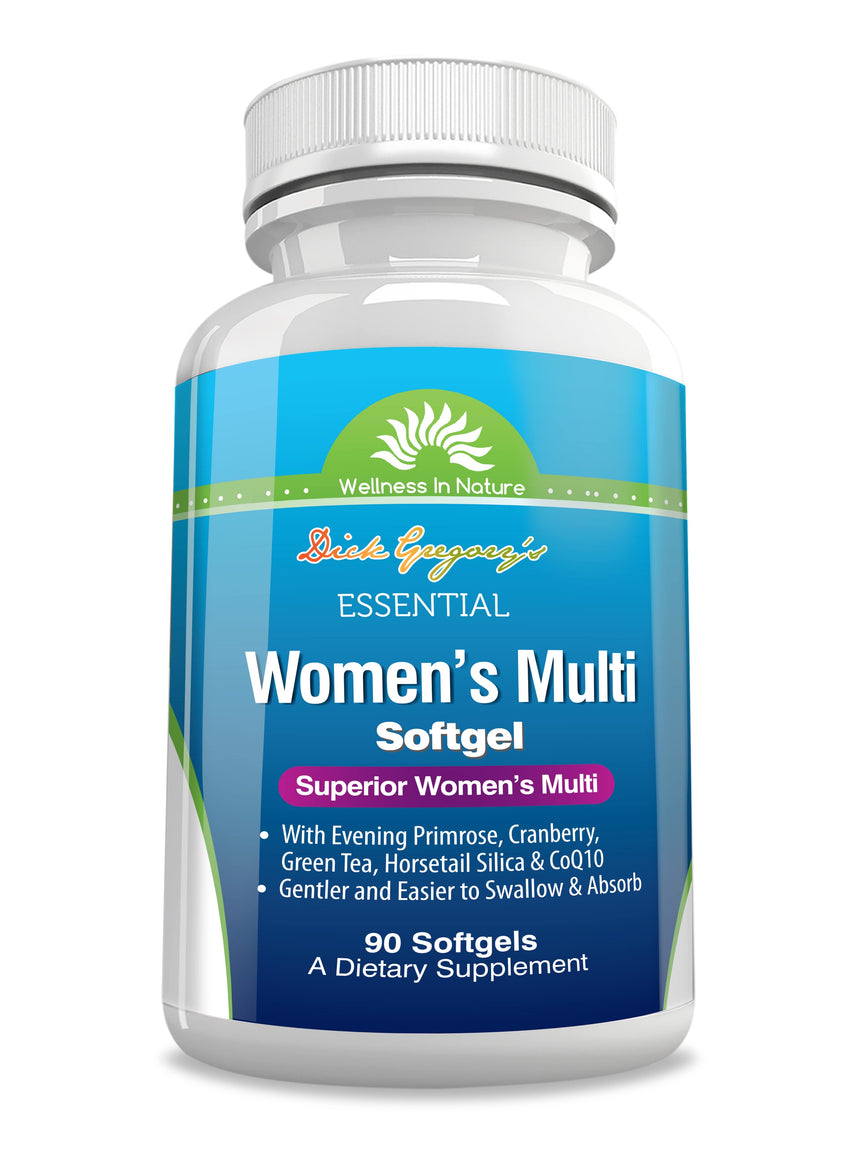 Dick Gregory's Essential Women's Multiple Vitamin Softgels
