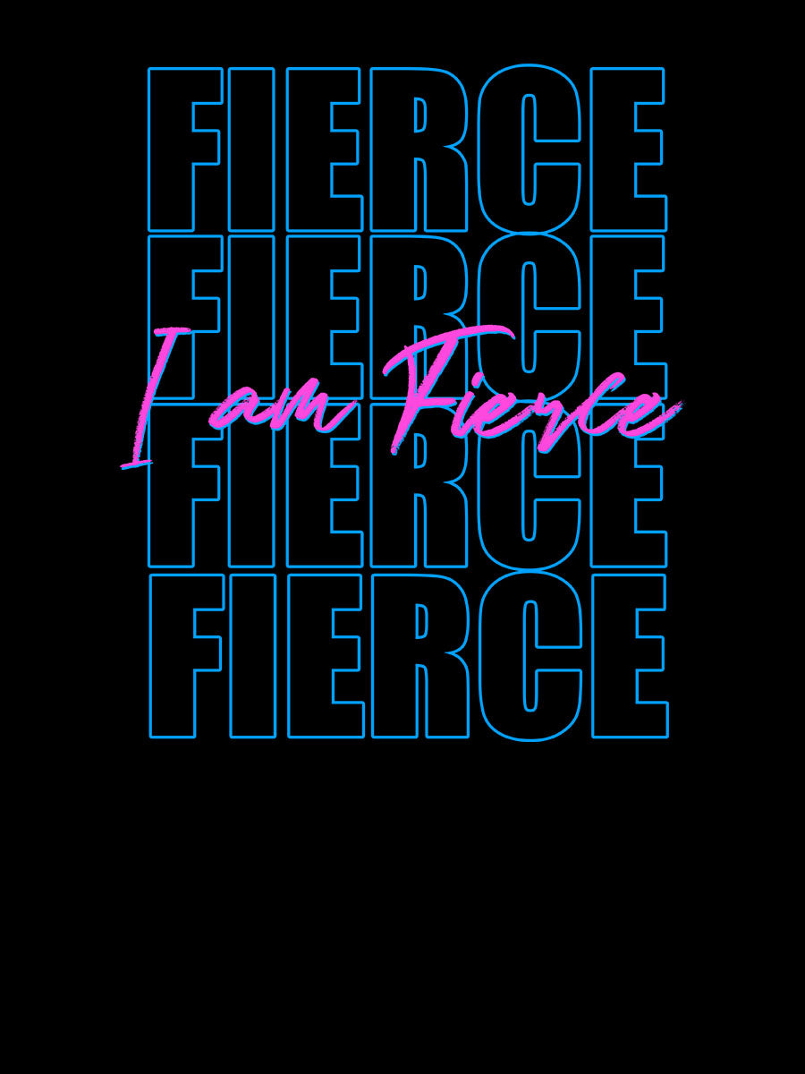 I am Fierce |  Retro 80s Style |  Unisex T-Shirt