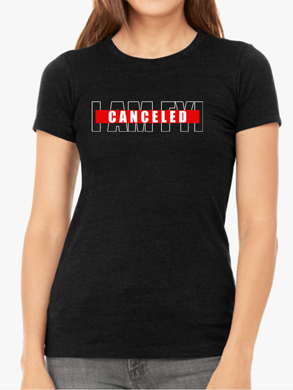 Canceled |  I AM FYI | Women's Slim Fit T-Shirt