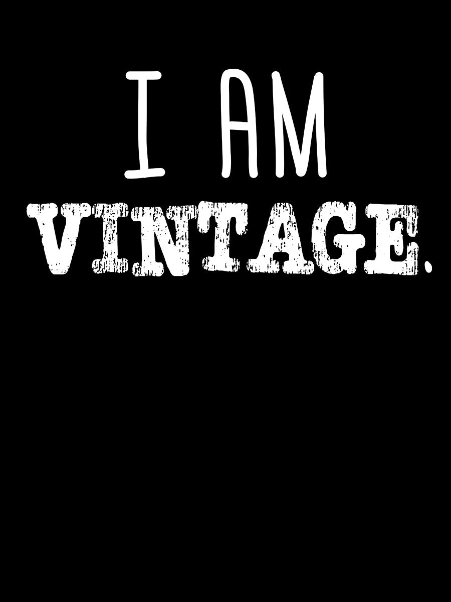 I am Vintage | Women's Slim Fit T-Shirt