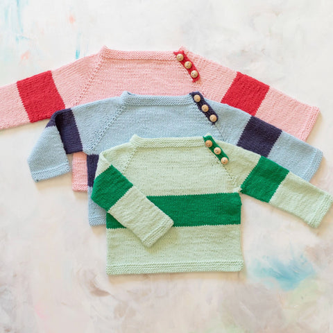 Appalachian Baby Rugby Baby Sweater Kit