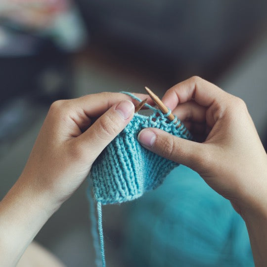 Learn to Knit Continental Style - A Virtual Workshop - May 18th