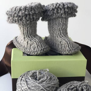 Wool Boots Hello Baby Kit