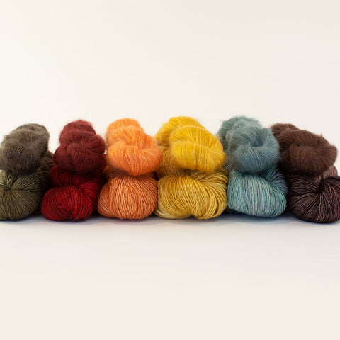Mad Tosh + Shibui Silk Cloud