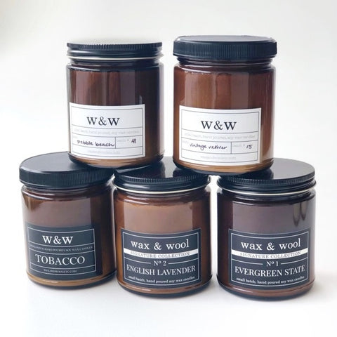Wax & Wool Candles