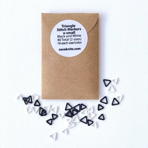 Cocoknits Triangle Markers - Extra Small