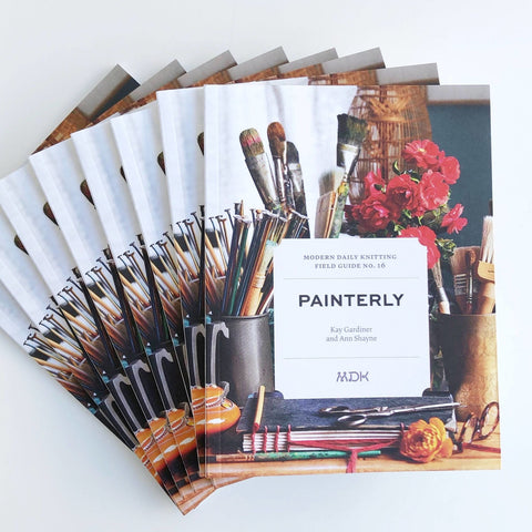 Modern Daily Knitting Field Guide No. 16 - Painterly