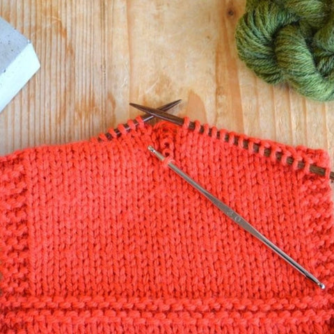 Fixing Knitting Mistakes 101 -  A Virtual Workshop - May 21st