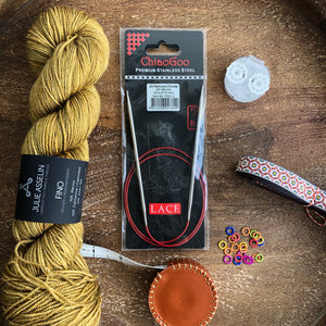 ChiaoGoo Red Lace 32 inch Circular Needles