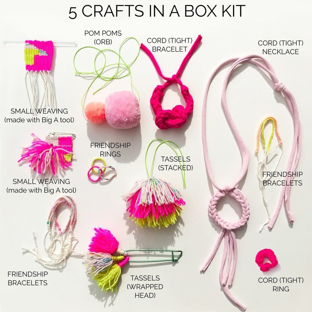 Loome Kit: 5 Crafts in a Box/Pastel