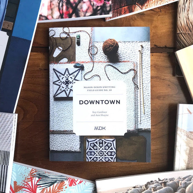 Modern Daily Knitting Field Guide No. 10 - Downtown