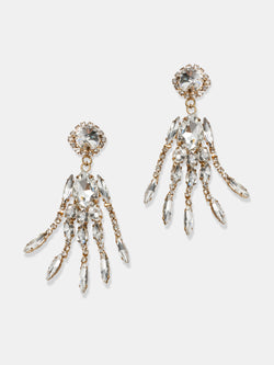 crystal earrings designed by Maryjane Claverol