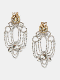maxi crystal earrings designed by Maryjane Claverol