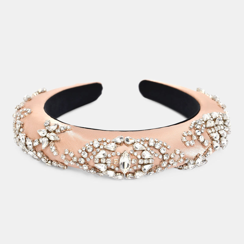 crystal embellished headband designed by Maryjane Claverol