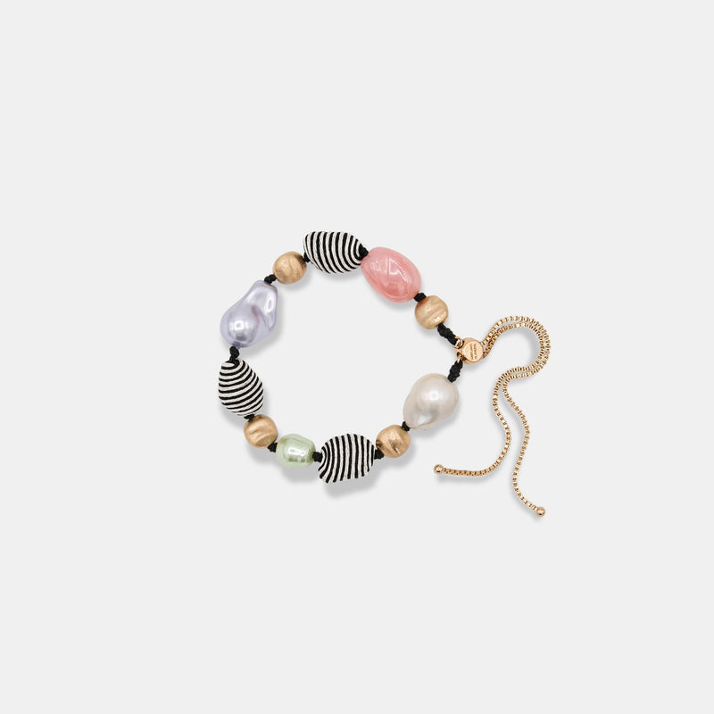 MARYJANE CLAVEROL, New Arrivals for summer, beaded colorful Riffa bracelet by MaryJane Claverol