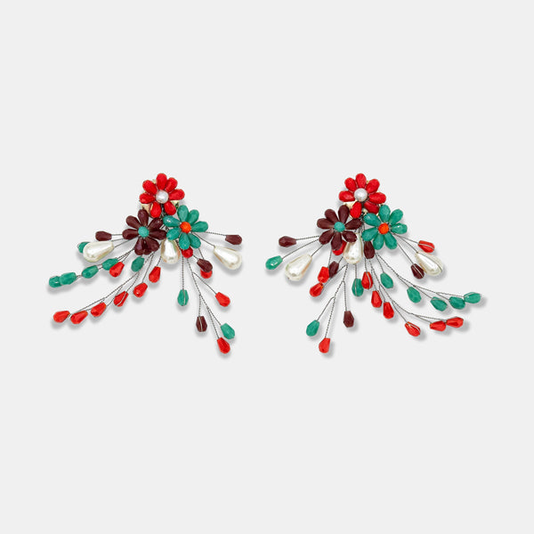 Colorful earrings designed by Maryjane Claverol