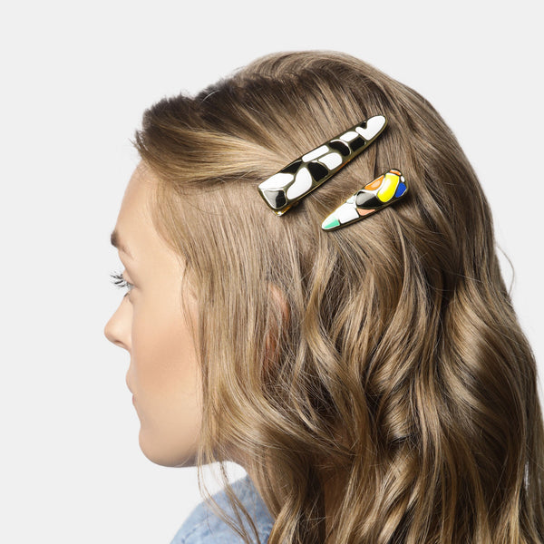 MARYJANE CLAVEROL, New Arrivals for summer, Clement hair clip set by MaryJane Claverol