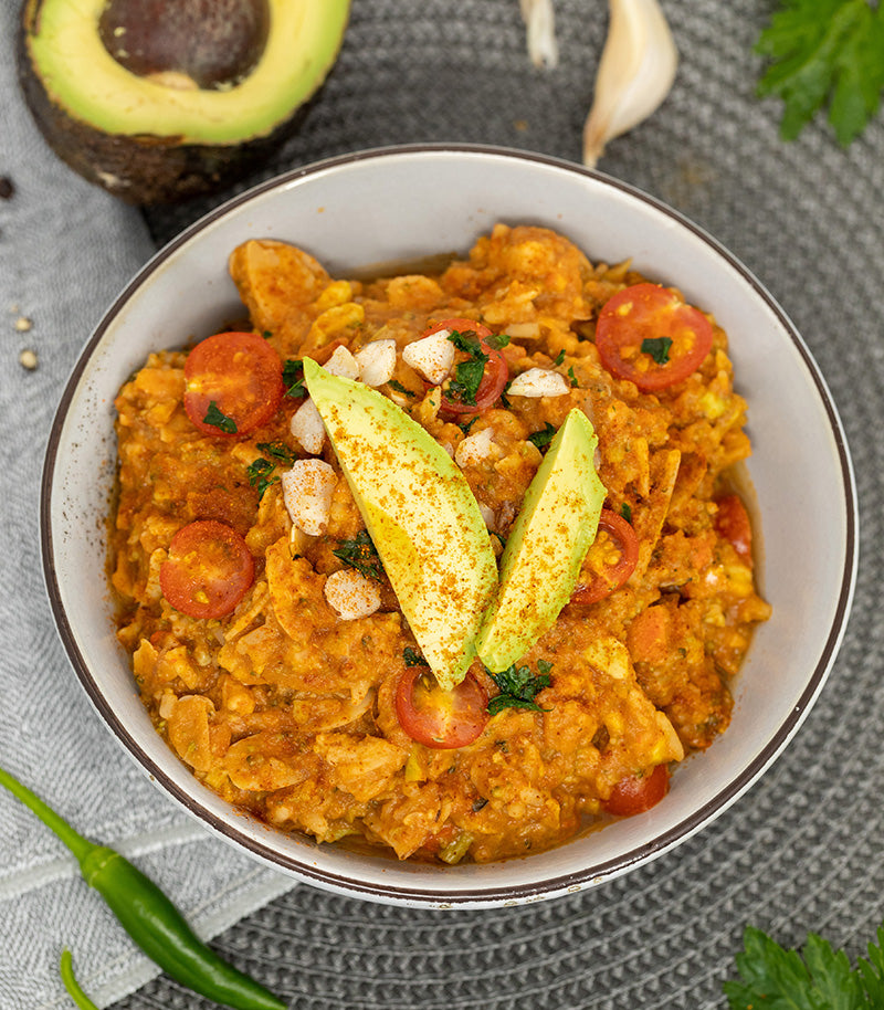 Radix Nutrition Expedition 800 Plant-Based Mexican Chilli with Avocado