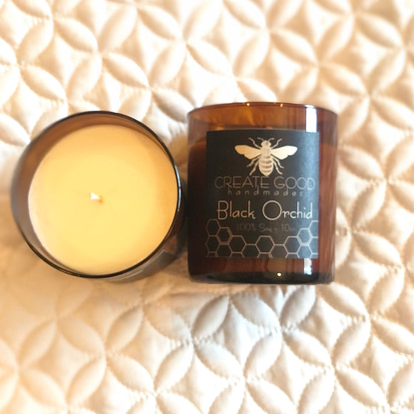 BLACK ORCHID soy candle