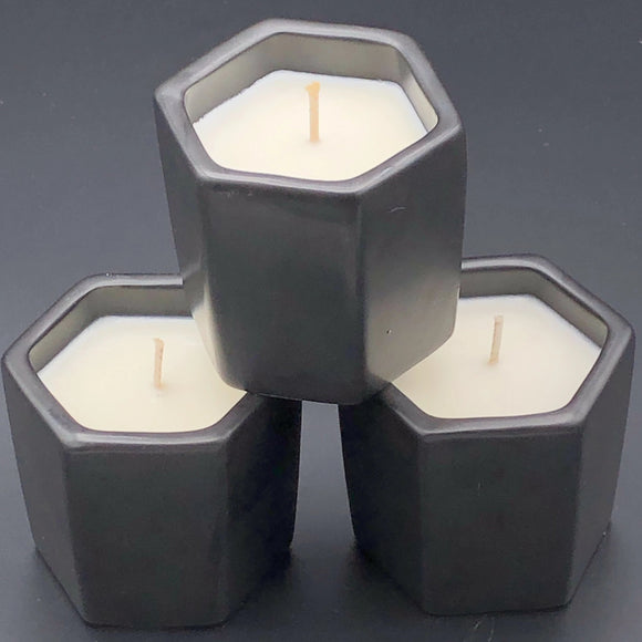 BE FIERCE soy hexagon candle