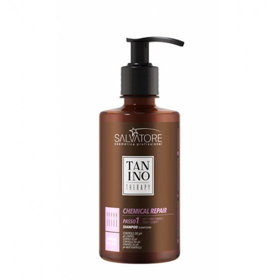 Tanino Therapy Chemical Repair shampoing 300ml - Cosmetix Maroc