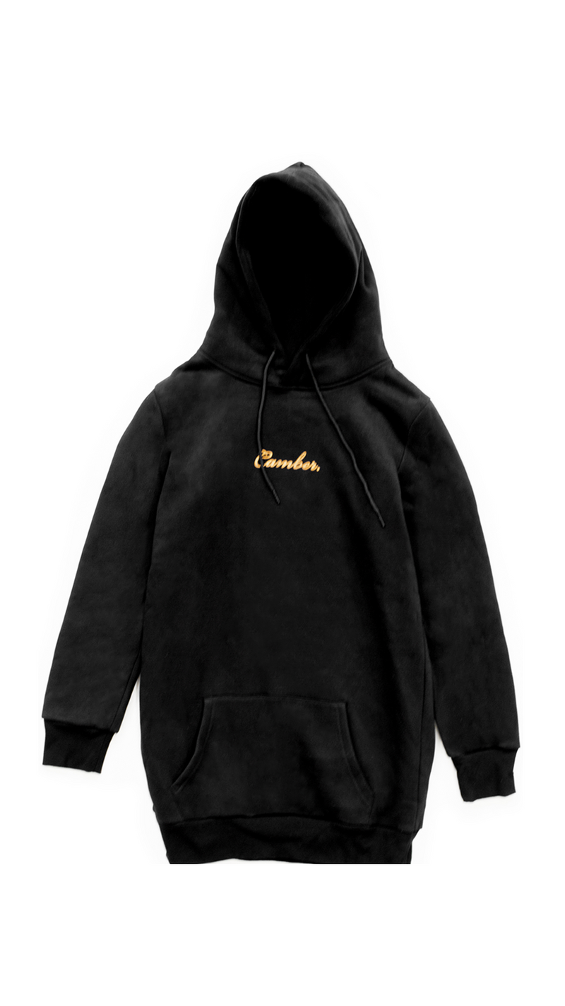 ROSÉ BLACK Hoodie Dress
