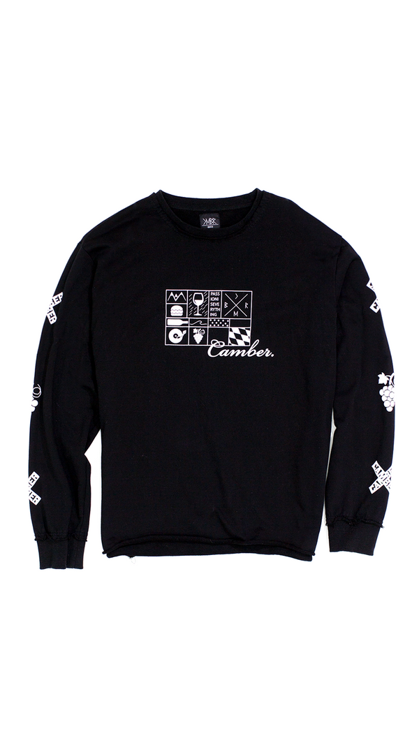 CHESS BLACK Sweater