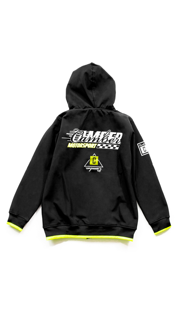 MOTORSPORT BLACK Shoftshell