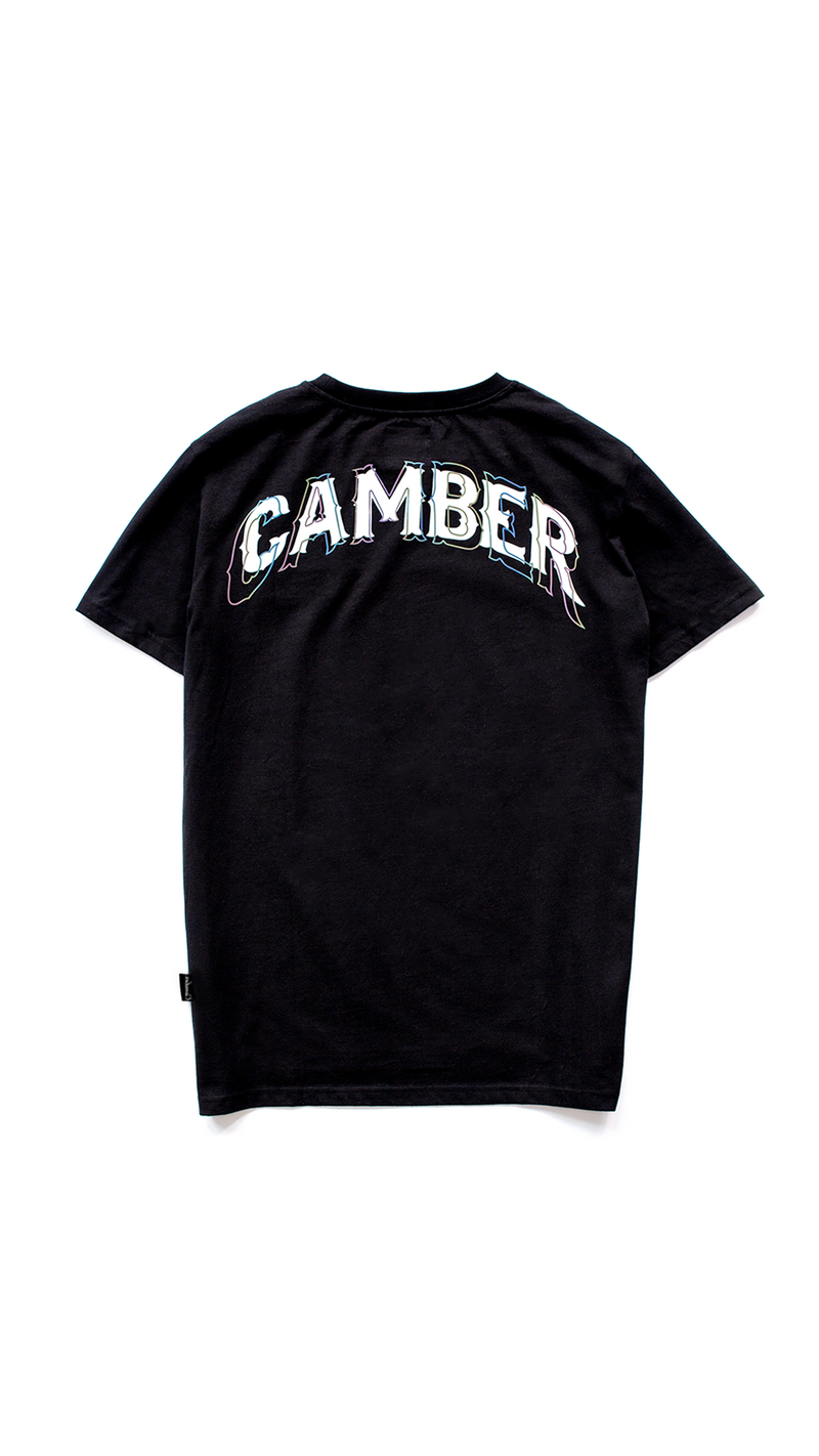 Camo Reflective Shirt Black