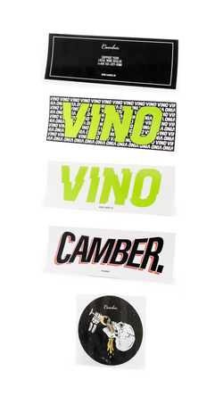 Camber. Sticker Set