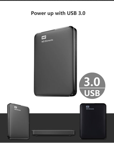 External Hard Drive Portable 1TB 2TB 4TB 2.5inch USB 3.0 for PC Laptop