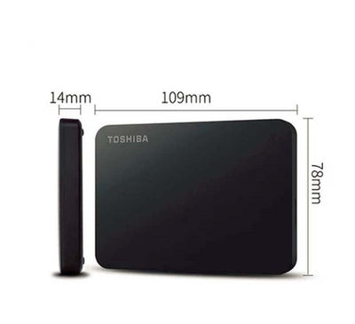 External Hard Drive Portable Toshiba Disk 500GB 2.5 Inch USB 3.0 for PC Laptop