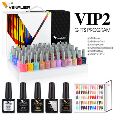 Gel nail polish new fashion 60 color for nail art design whole set