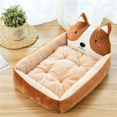Pet Bed Mats Cartoon
