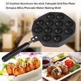 12 HOLES TAKOYAKI MAKER PAN (NON-STICK)