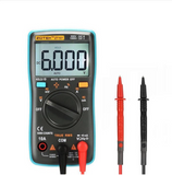 MINI PORTABLE DIGITAL MULTIMETER (6000 Counts, LCD Display, Backlight)