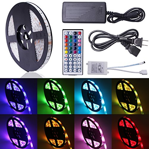 REMOTE CONTROLLED MULTI-COLOR LED STRIP RGB