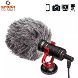 COMPACT VIDEO MICROPHONE FOR SMARTPHONES AND CAMERA (STREAMING, VLOGGING)