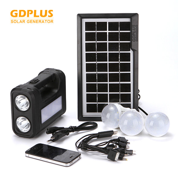 PORTABLE SOLAR LIGHTING SYSTEM KIT (ORIGINAL)