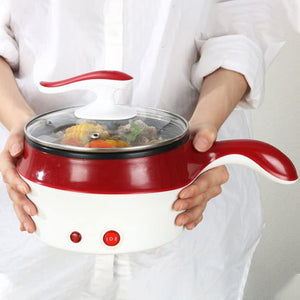 1.2L MINI MULTI COOKER STAINLESS STEEL GRADE (FREE STEAMER AND SPATULA)