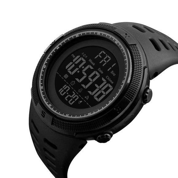 DIGITAL LED WATERPROOF OUTDOOR SPORTS WATCH