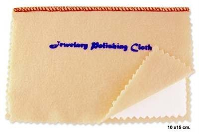 Set of 3 Double Layer 6x4 Jewelry Polishing Cloths
