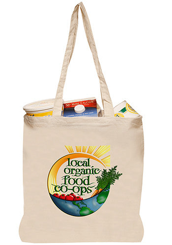 Natural Cotton Fiber Tote Bag